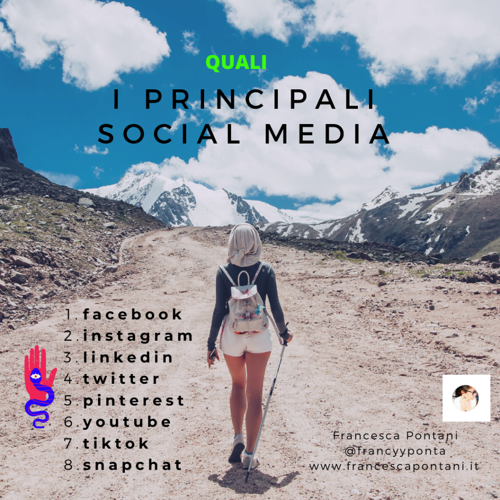 i principali social media nel marketing-Francesca Pontani Comunicazione-Viterbo