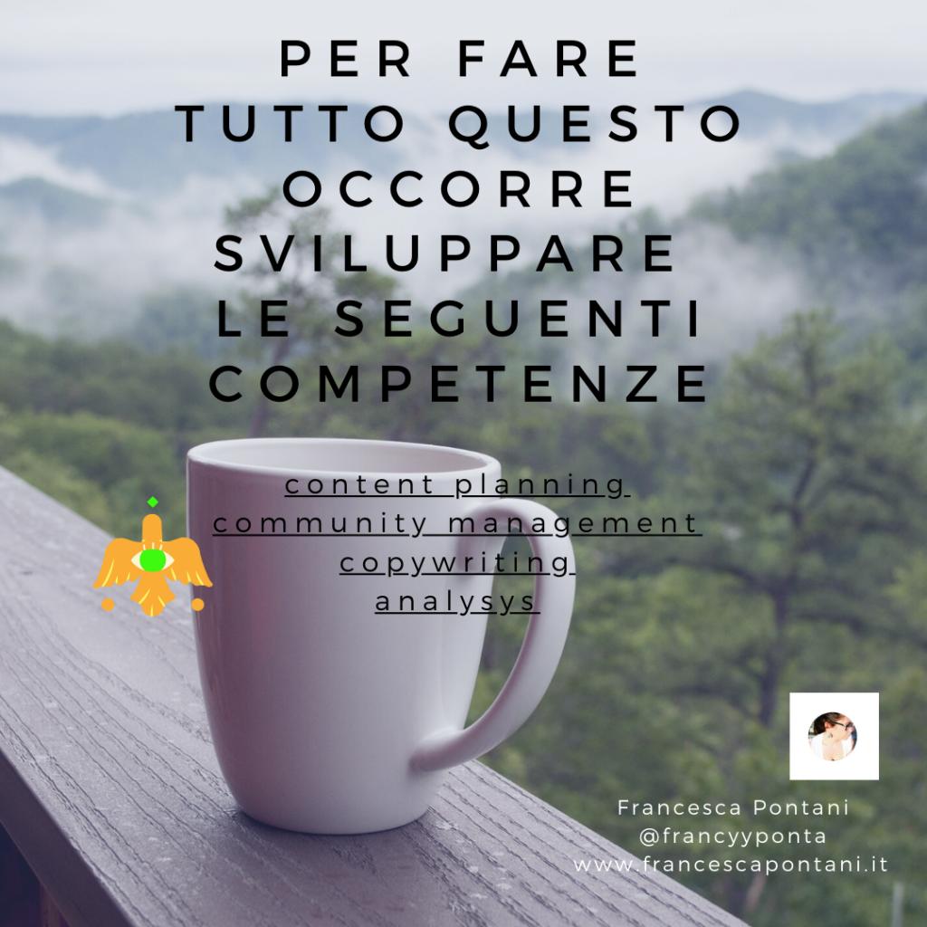 le competenze del social media marketing-Francesca Pontani Comunicazione-Viterbo